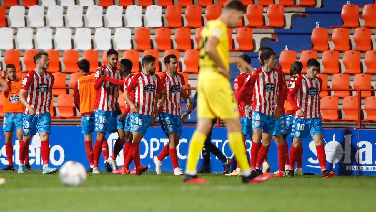 Tejera Real Oviedo Logroñes Carlos Tartiere.José Ángel Ziganda, técnico del Real Oviedo