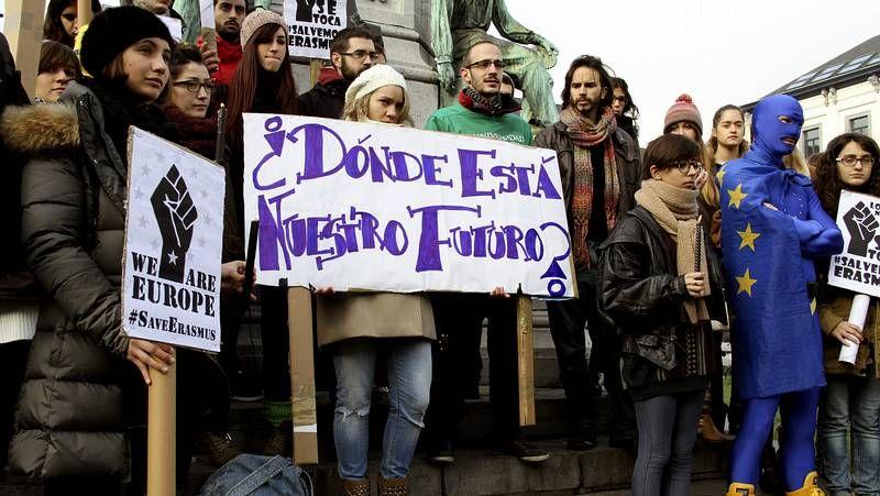 Concentraciones de los Erasmus españoles