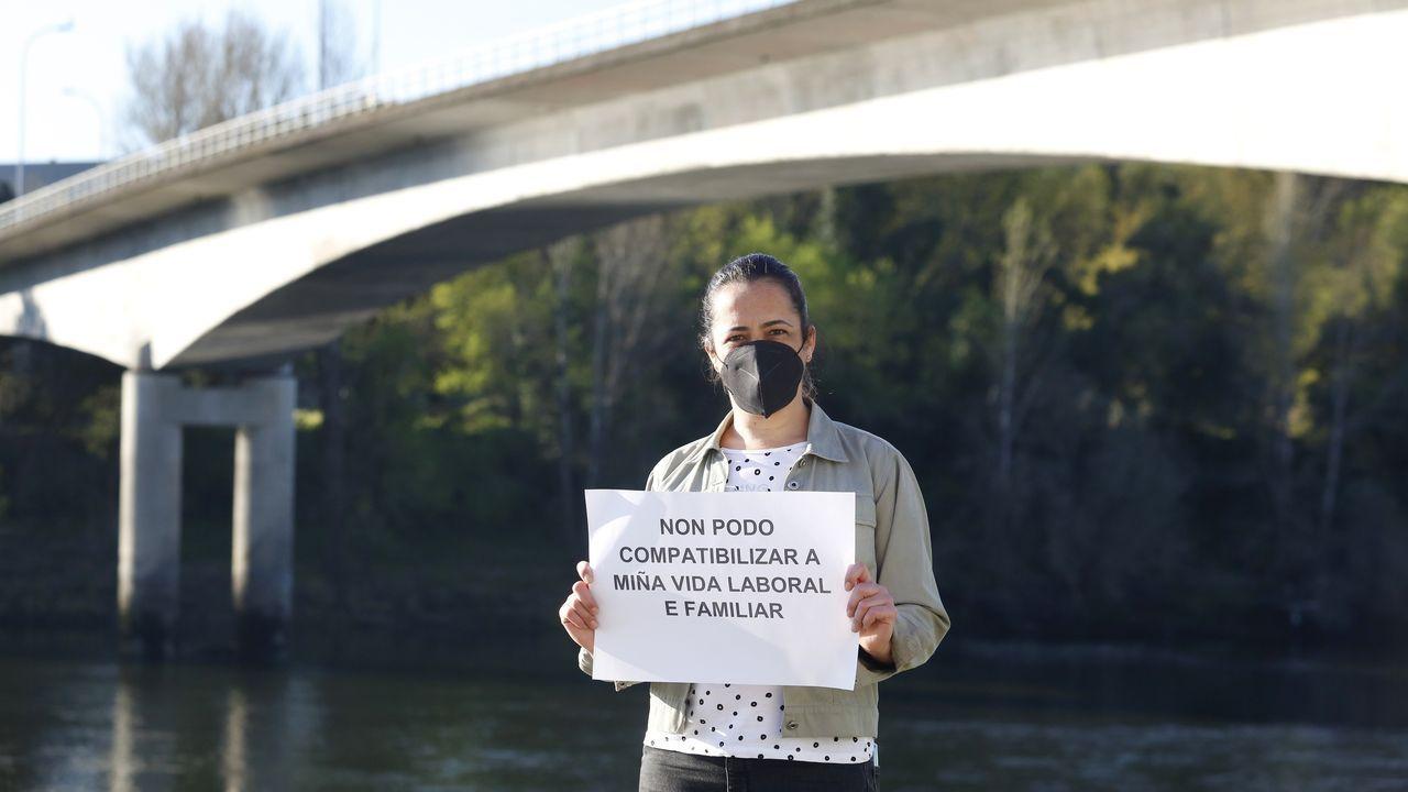 Jornada de protesta de la flota gallega en Baiona