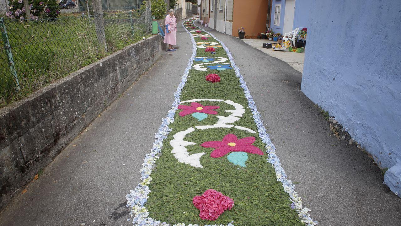 ¡Mira aquí las alfombras de Corpus en la comarca!