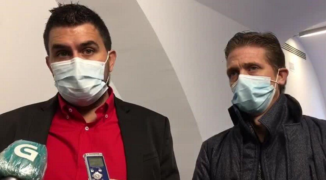 «Si ahora sale a la calle, ¿alguien se cree que no lo va a volver a hacer».Imagen de este martes del acusado, Ramón Saiz, con su abogado.