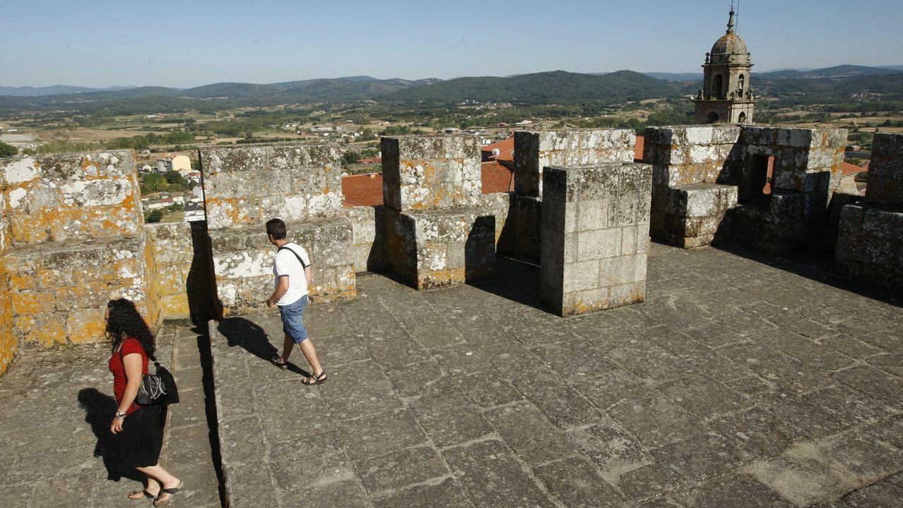 Un monumento de la Ribeira Sacra salvado de la ruina