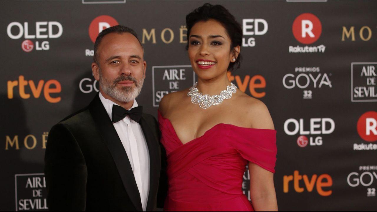 Maria Botto.El actor Javier Gutierrez y la actriz mexicana Adriana Paz.