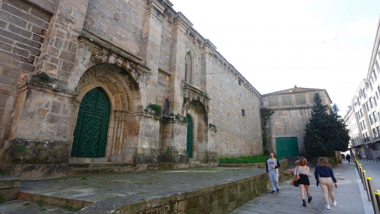El convento de Santa Clara, en Pontevedra, está a la venta desde 2017