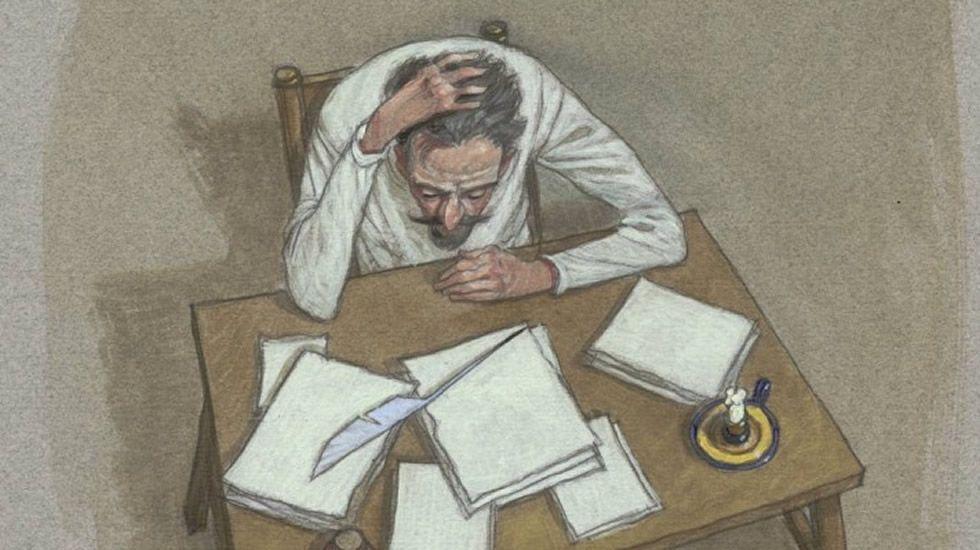 Unha das ilustracións de Miguelanxo Prado