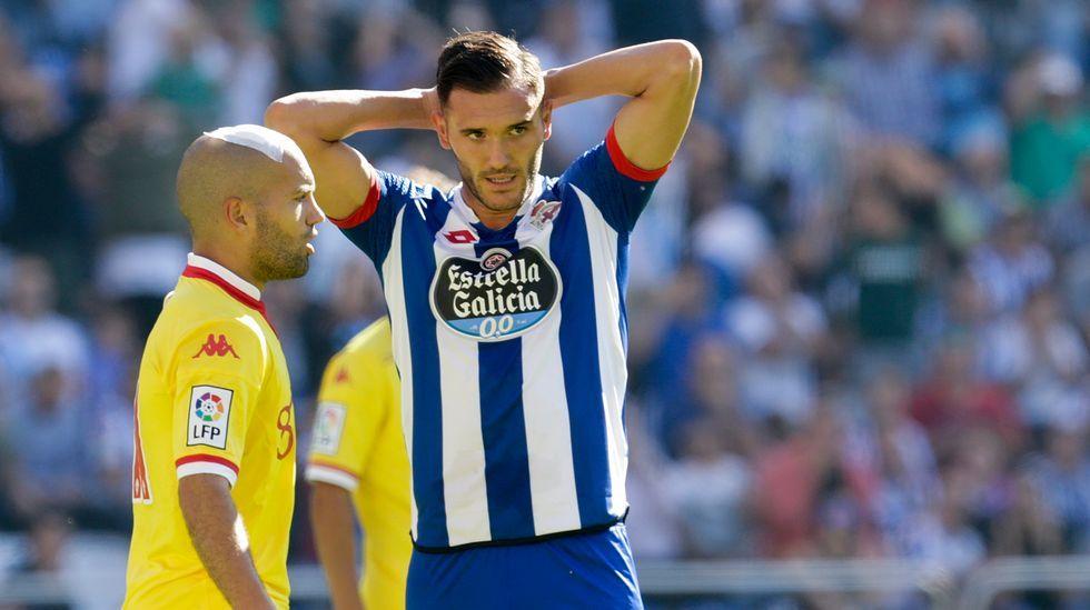 El Deportivo-Sporting de Gijón, en fotos