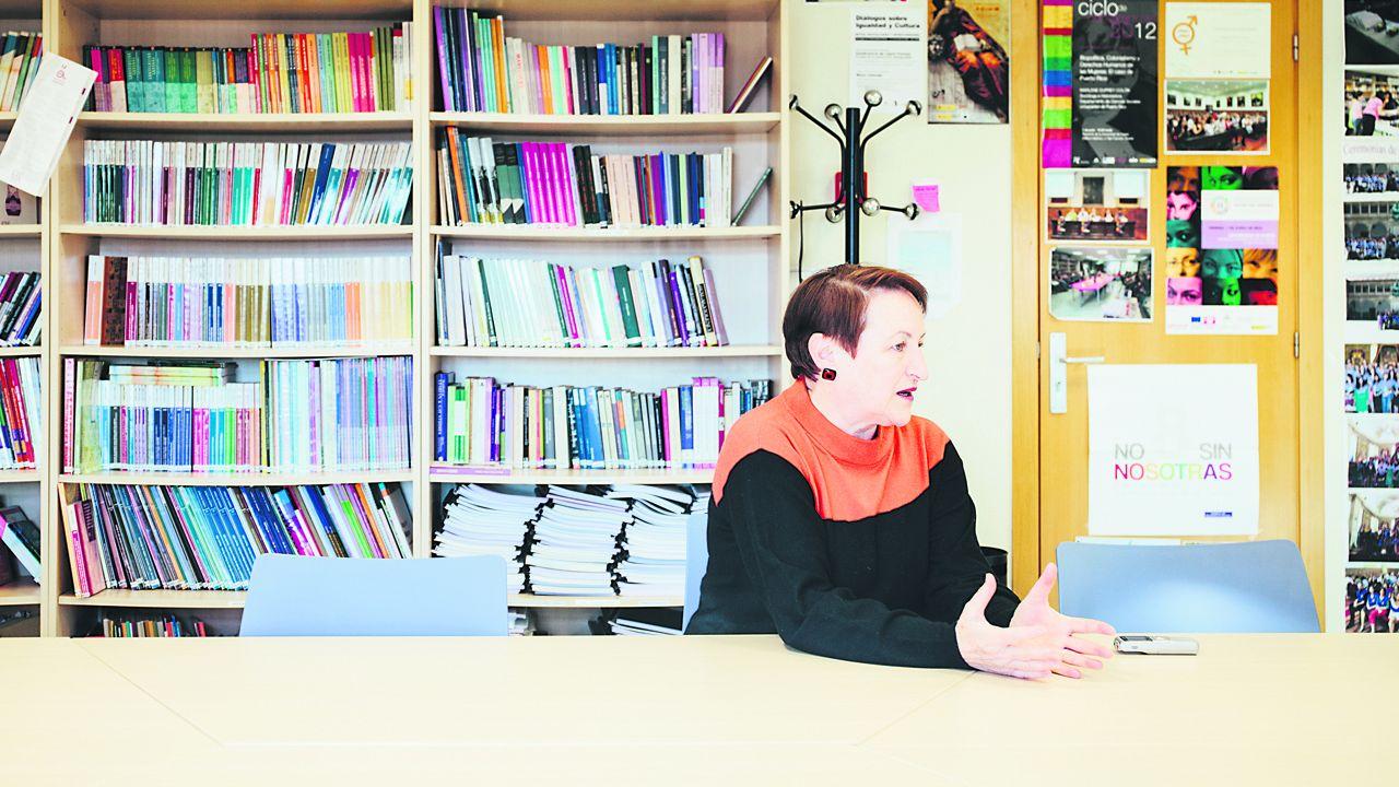 Isabel Carrera, directora del Máster de Igualdad de la Universidad de Oviedo