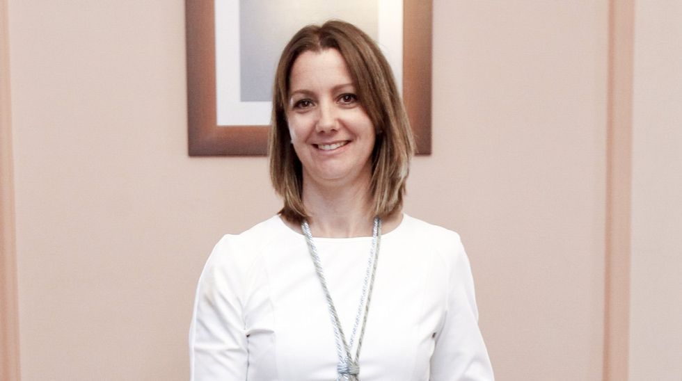 Lara Méndez, alcaldesa de Lugo. Aspirante a presidir la Diputación, se vio obligada a asumir la alcaldía lucense como número dos de la lista socialista cuando se produjo la renuncia de López Orozco.