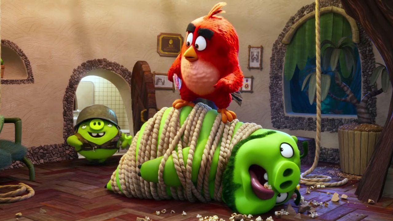 Fotograma del filme «Angry Birds 2: la película»