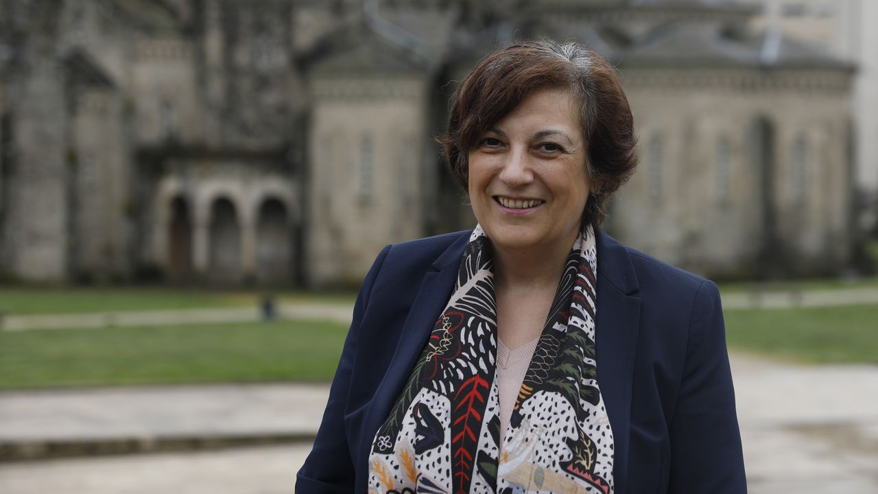 Jovita Alonso, vicepresidenta de Aodem y afectada por la enfermedad de Párkinson