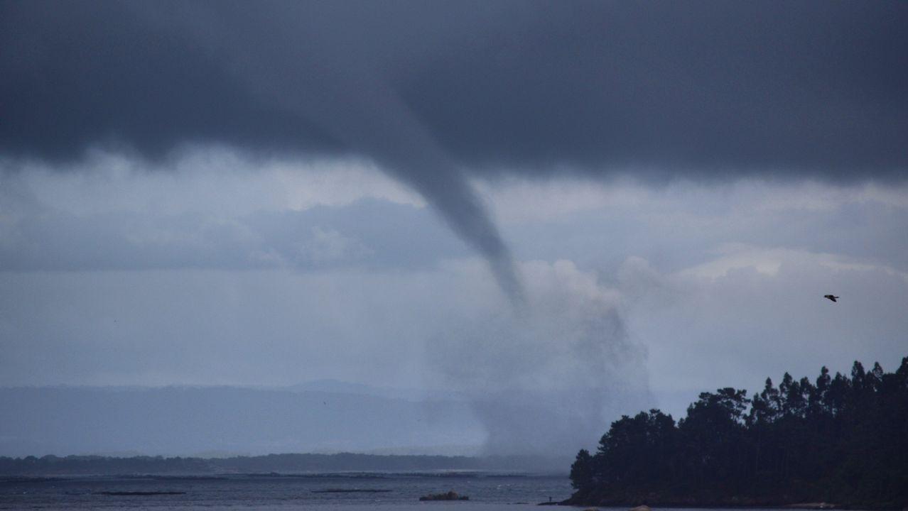 Insólito, más tornados en Galicia que en Kansas