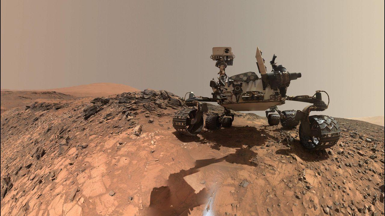 La Nasa muestra pruebas de posible vida en Marte.Titán, a lúa de Saturno compatible coa vida