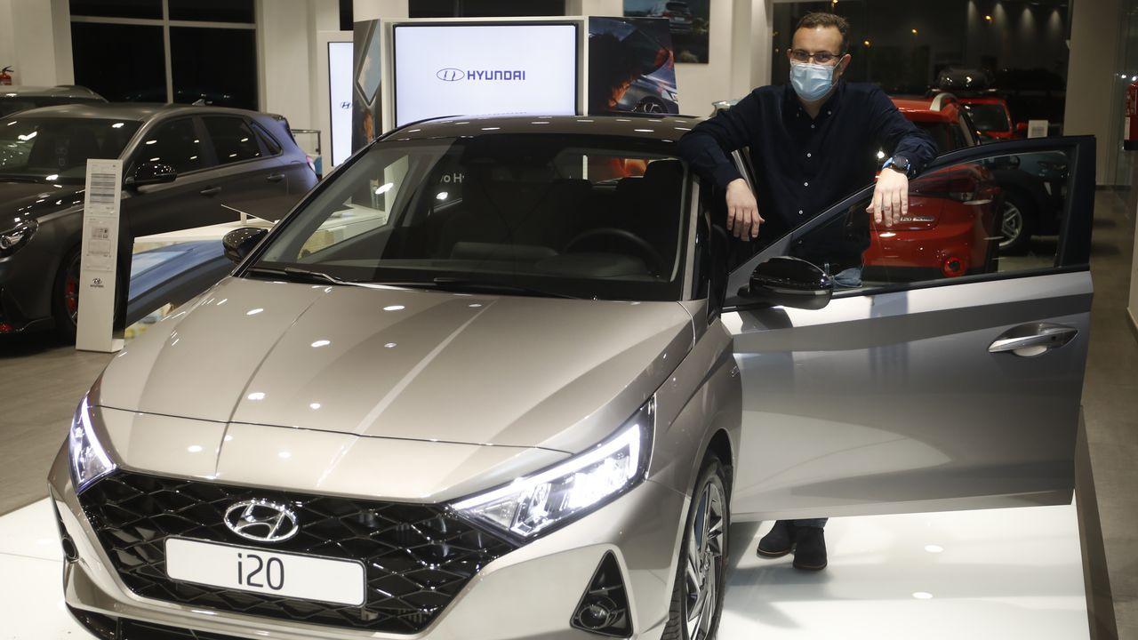 José Ramón López, de Hyundai Ditramotor, explica que las ventas van mejor de lo esperado