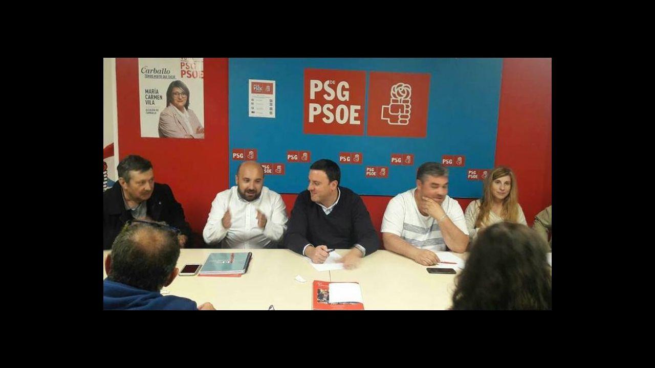 Valentín González Formoso liderará el PSOE en la provincia de A Coruña.