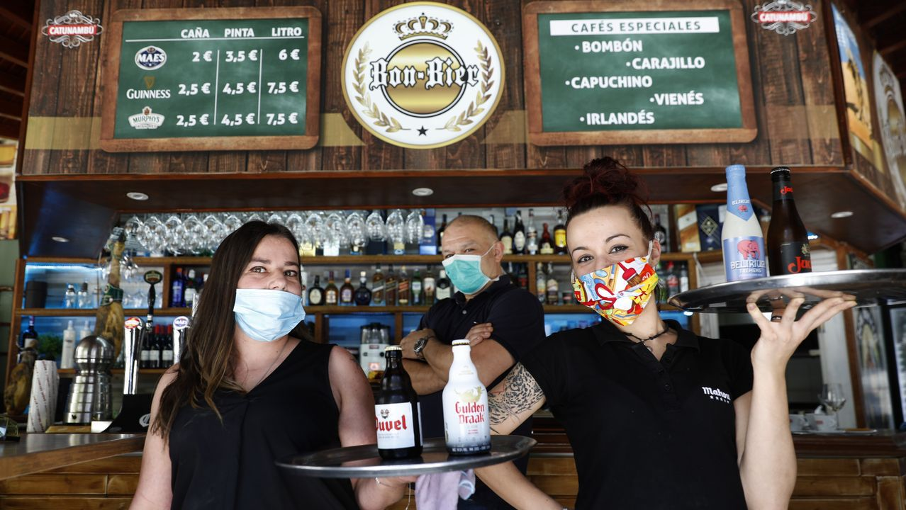 El equipo de Bon Bier abrió las puertas de su cervecería cuando comenzó la fase 1