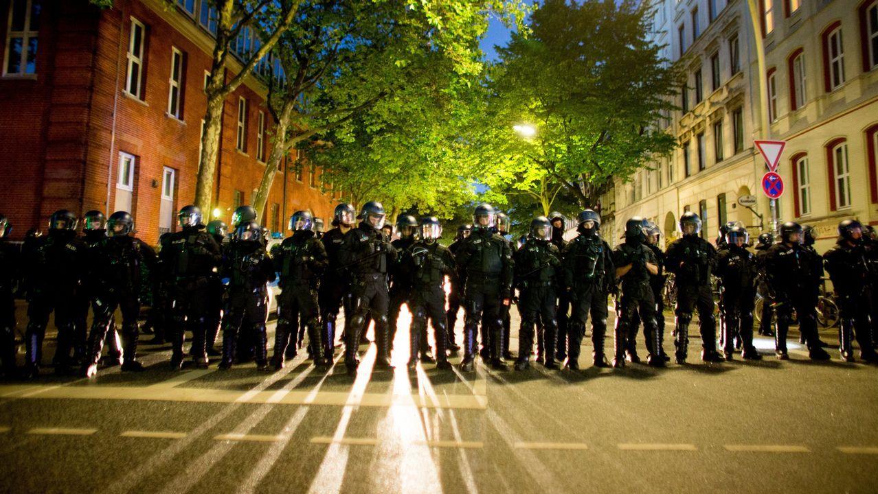 Las protestas de la cumbre del G-20
