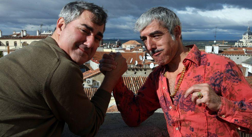 Tonino Guitián y Sergio Pazos presentarán mañana un nuevo espectáculo en Sarria.