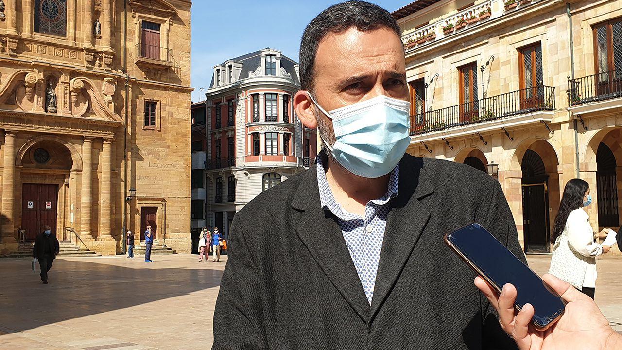 Ricardo Fernández, concejal del PSOE en el Ayuntamiento de Oviedo