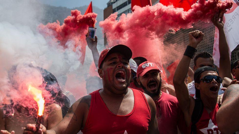 Multitudinarias protestas en Brasil contra el nombramiento de Lula da Silva