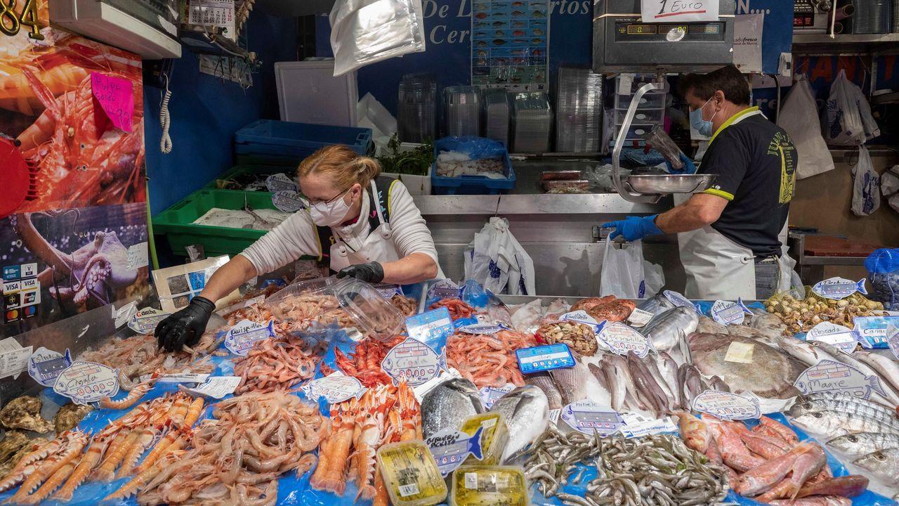 Un 30 % de media han caído las ventas en las más de 7.000 pescaderías representadas por Fedepesca, donde emplean a más 23.000 profesionales