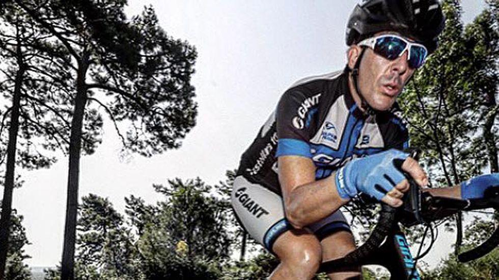 El exciclista Luis Pasamontes