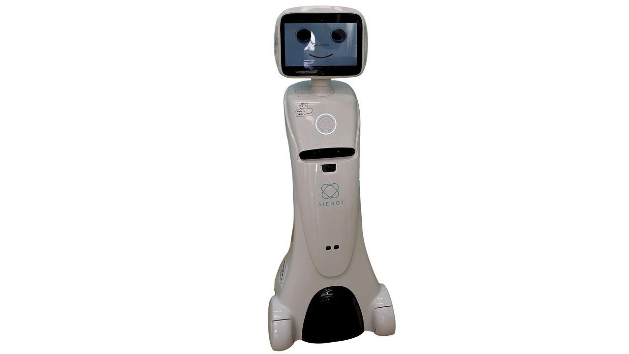 AMY. Robot social con funciones de seguridad.