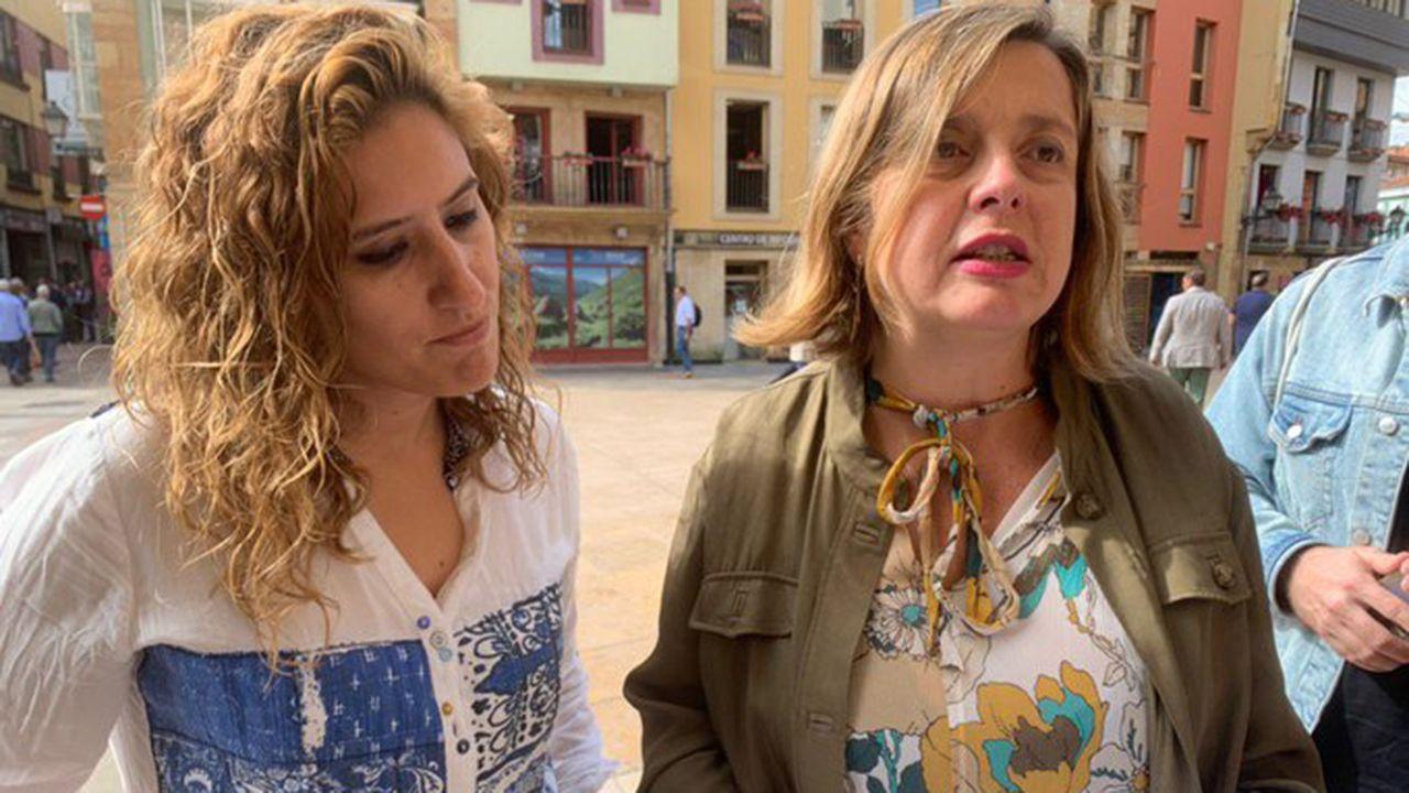Gascona, sidra, sidrerías,.Ana Taboada y Anabel Santiago