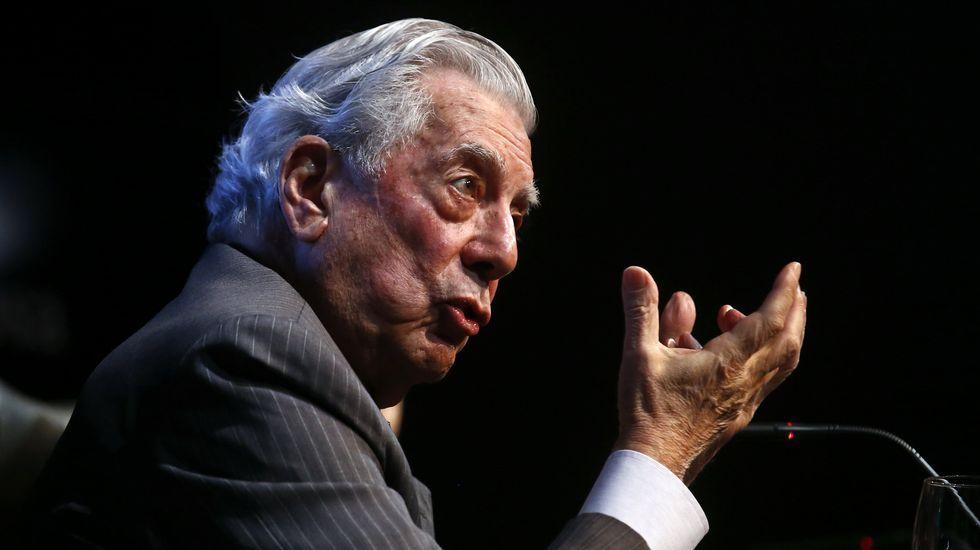 La fiesta de cumpleaños de Vargas Llosa en Madrid