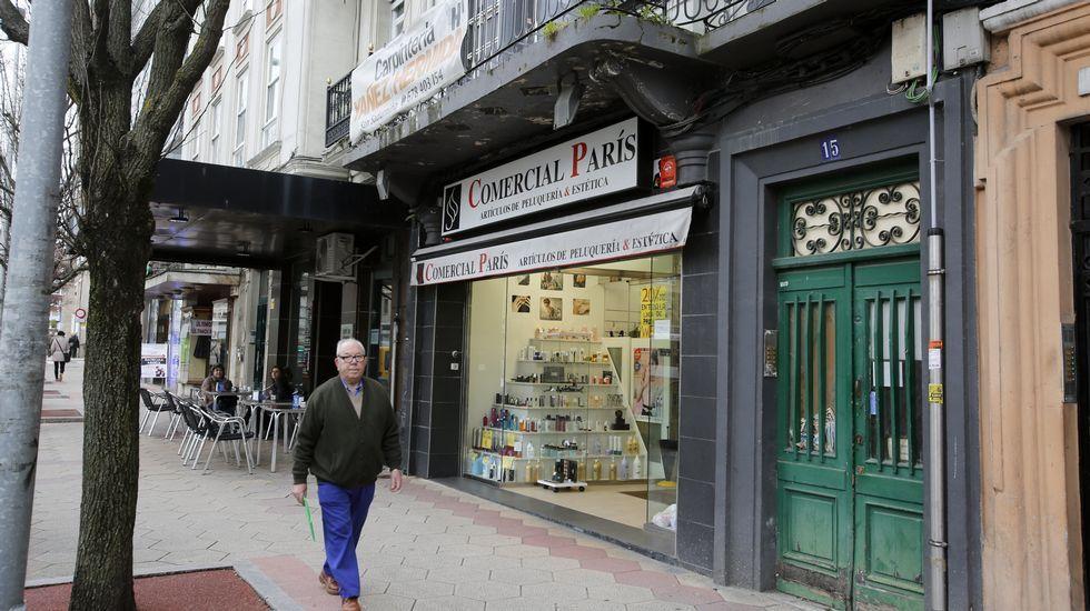 Lugar que ocupaban los antiguos cines Madrid París
