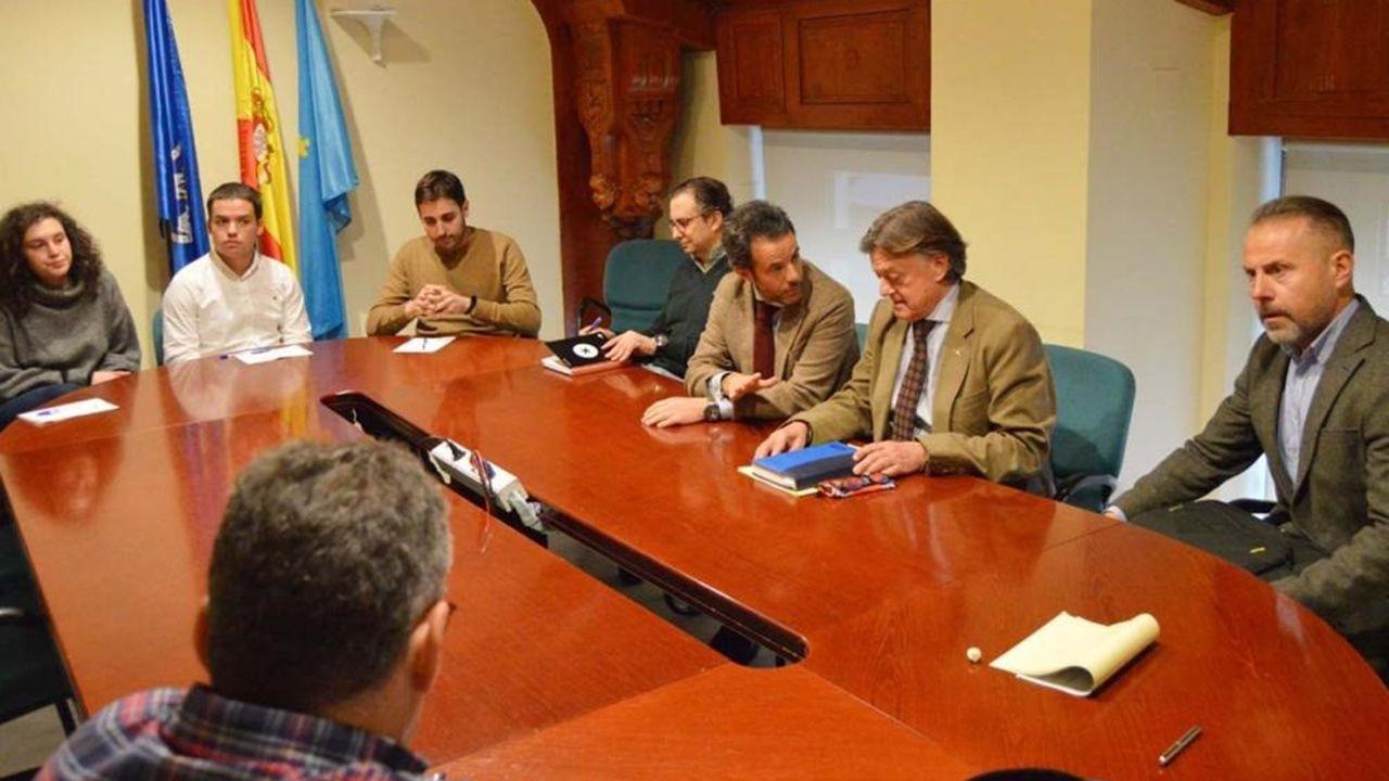Ciudadanos oviedo.Reunión de este miércoles de Seguridad Ciudadana e Infraestucturas de Oviedo