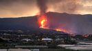 Aumenta el flujo de lava en el volcán de La Palma