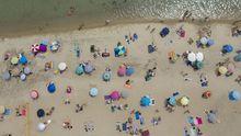 Una playa de Grecia, este fin de semana