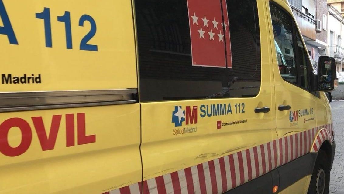 Imagen de archivo de una ambulancia del 112 de Madrid