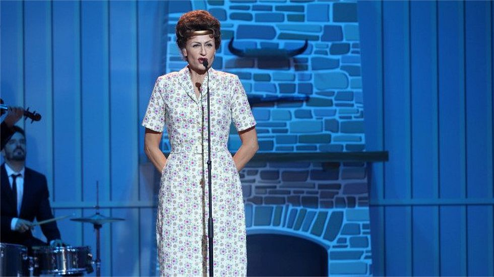 Esther Arroyo imita a Patsy Cline