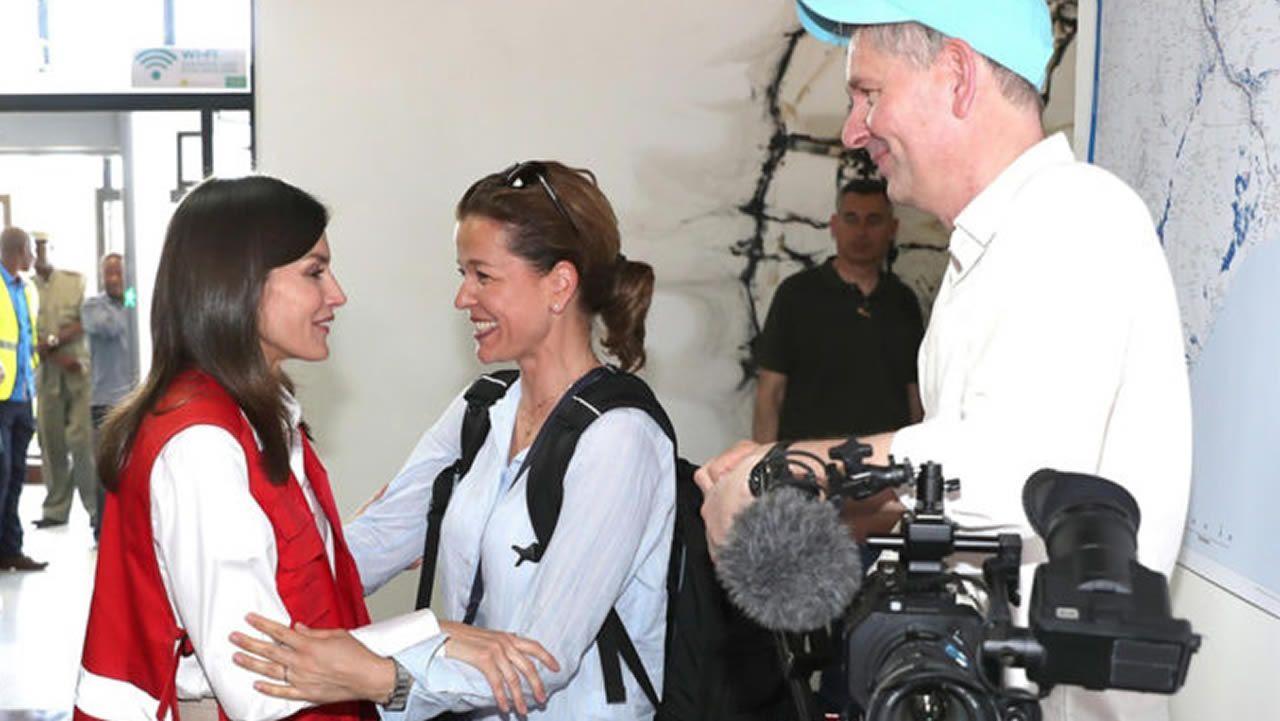 Felipe VI tras la visita a su padre en el hospital: «Da gusto verle tan bien y tan animado».Carla Vigo, sobrina de la reina Letizia, en una imagen de su cuenta de Instagram