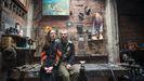 Os artistas Alissa e Pavel darán vida en Navia de Suarna á iniciativa «Creando arte na rúa xuntos»