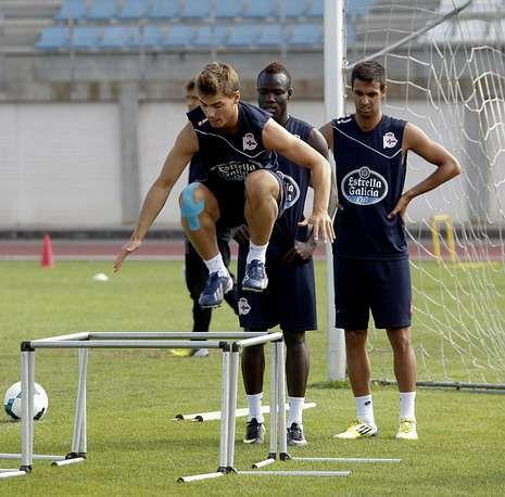 Varios de los jugadores del filial serán protagonistas en el Dépor la próxima temporada.