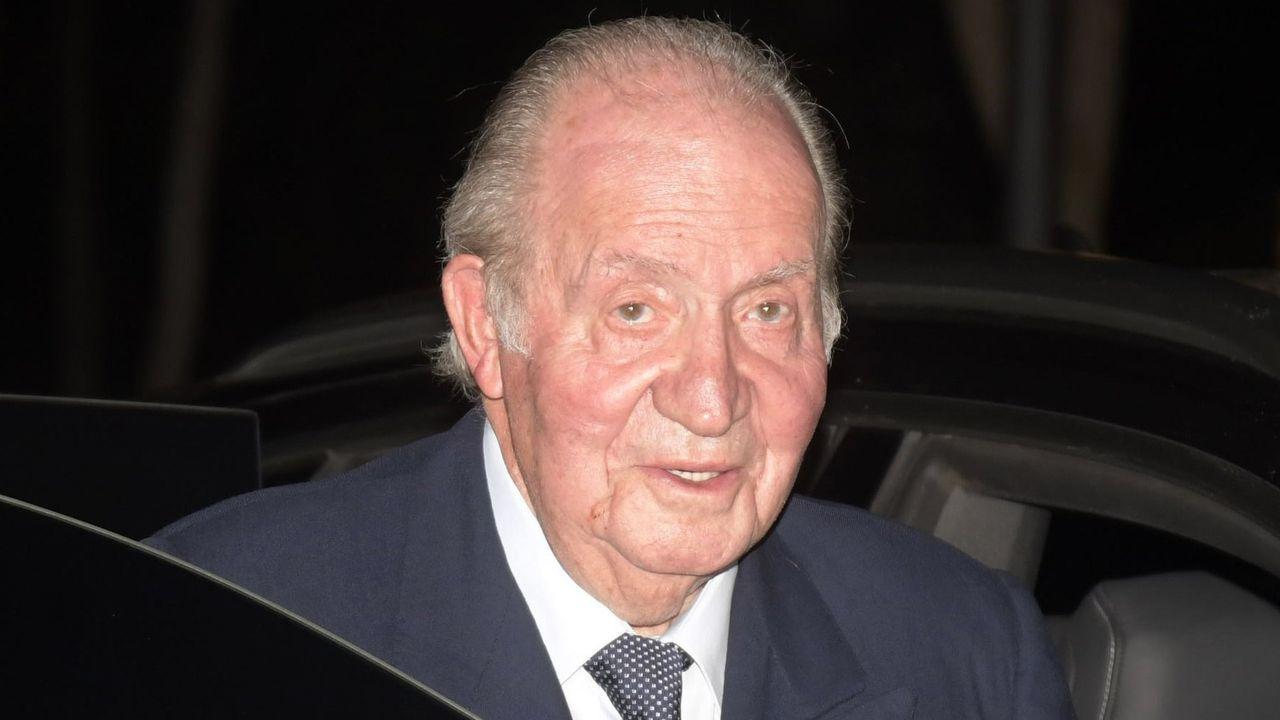 EUROPA PRESS.Juan Carlos de Borbón, en una imagen de archivo