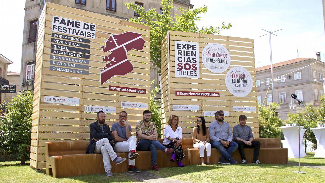 Presentación de FEST Galicia 2019.Concierto de Iván Ferreiro en Santiago