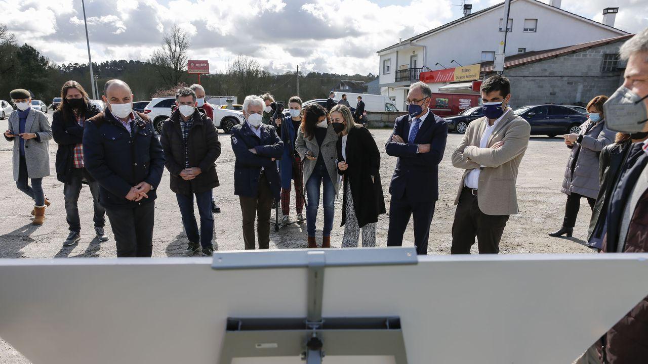 Concentración motera en Gijón.Presentación del proyecto de la OU-525