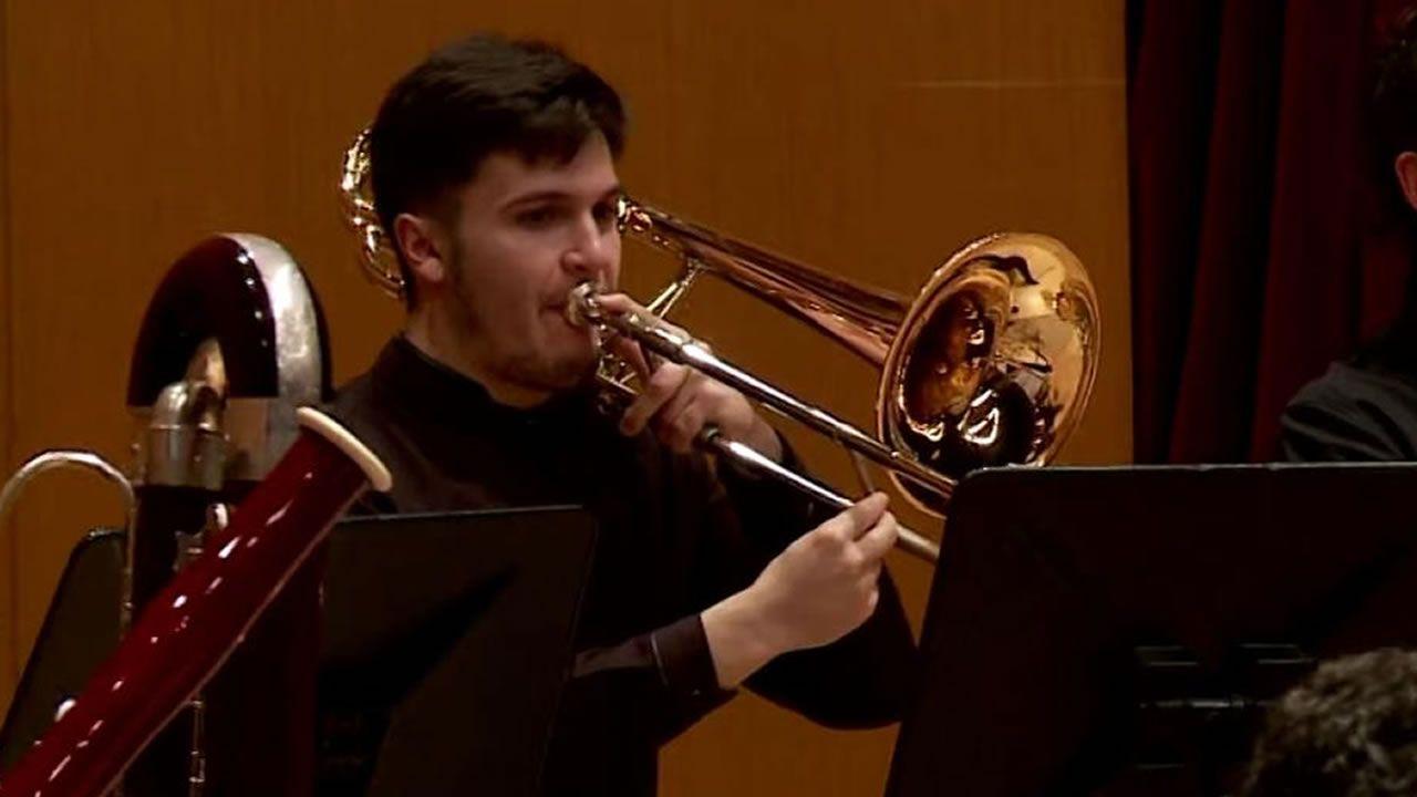 Nieto Extremadura Real Oviedo Francisco de la Hera.Adan Gómez nun concerto coa Orquestra Xove da Sinfónica de Galicia