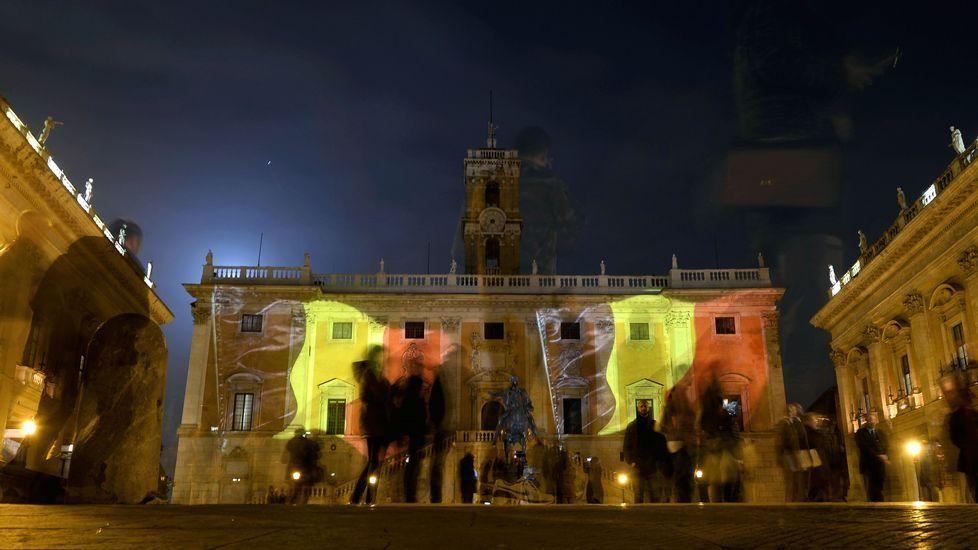 Homenaje en Roma.