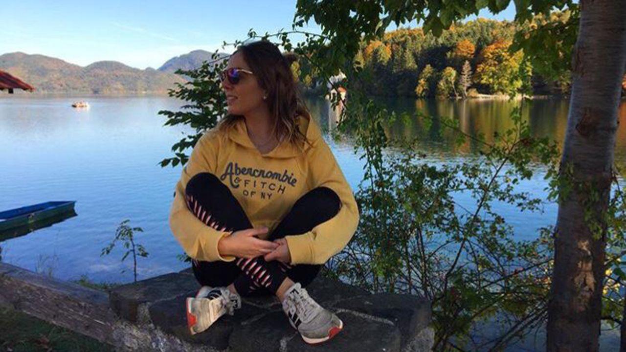 Programa Juventud Asturiana Cooperante 2019.Olaya Álvarez en el lago Walchensee