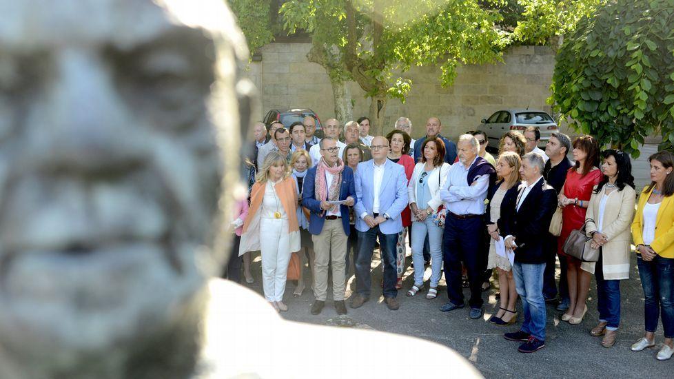 Acto en Ourense.