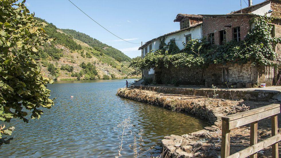 La aldea ribereña de Pincelo es un ejemplo destacado del modo de vida tradicional ligado a los recursos del Miño