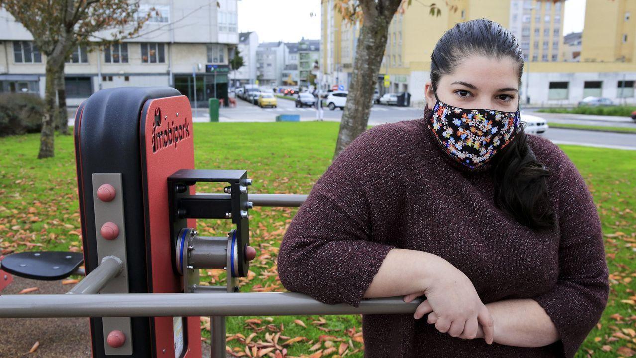 Catalina Ferreiro, titulada en atención sociosanitaria, es una de las muchas cuidadoras que ya no reciben ofertas de empleo