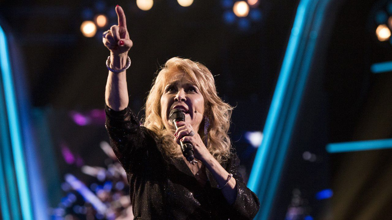 Helena Bianco canta «A mi manera» en la final de «La Voz Senior»