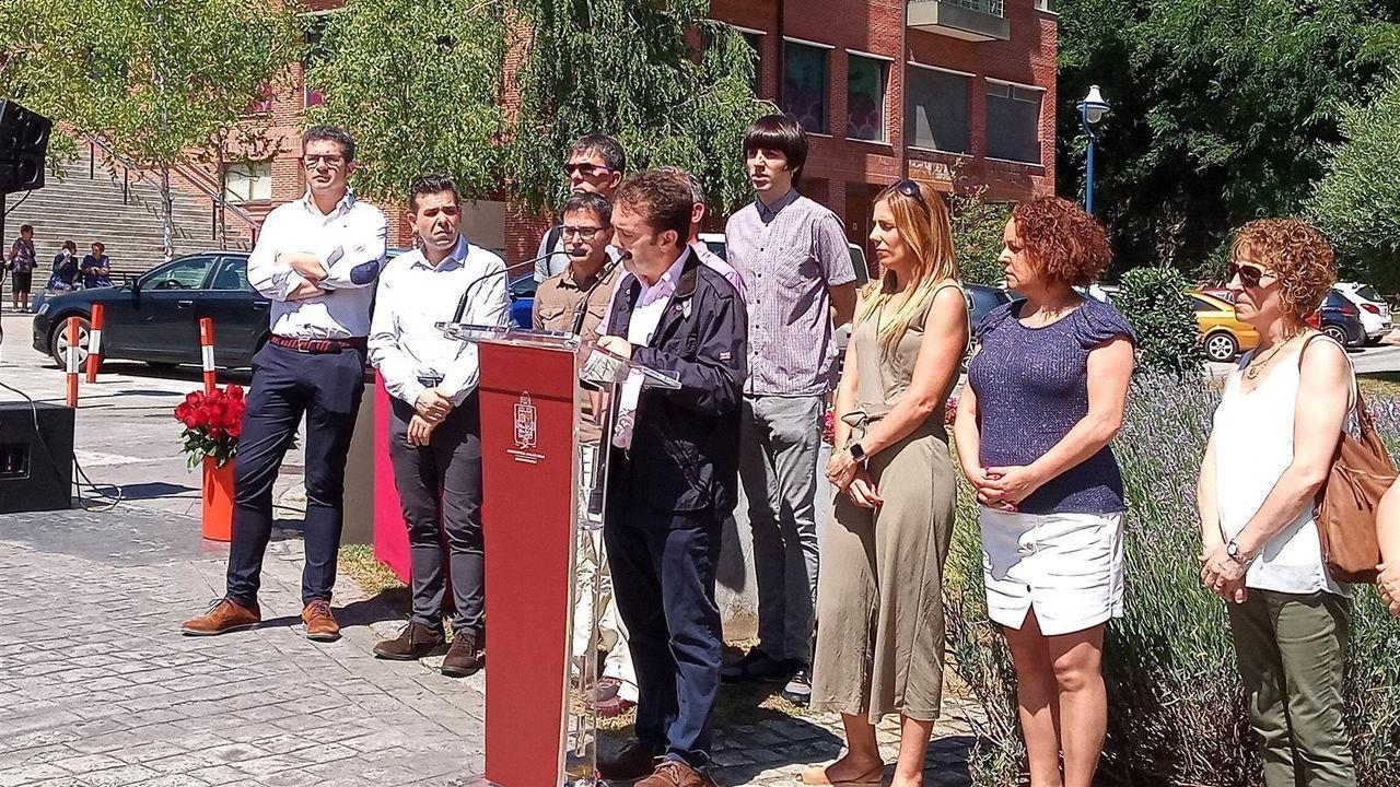 Homenaje en el 2019 de todos los partidos políticos de Ermua a Miguel Ángel Blanco, asesinado por ETA