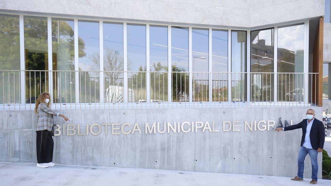 Un nuevo espacio para disfrutar de Cesures.Carmela Silva preside la Diputación de Pontevedra
