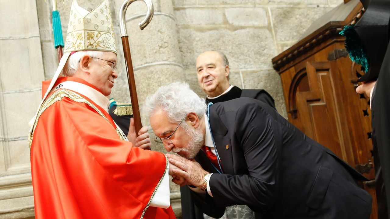Ceremonia de traslación del Apóstol Santiago